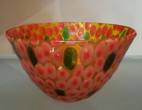 Red Jelly Bowl