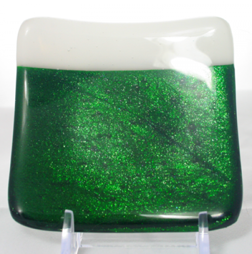 Green little dish